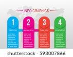 business infographics. timeline ...   Shutterstock .eps vector #593007866