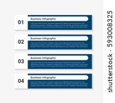 modern infographic options... | Shutterstock .eps vector #593008325
