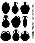 Amphorae. Set Of Amphora...