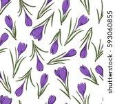 seamless vector pattern. bright ...   Shutterstock .eps vector #593060855