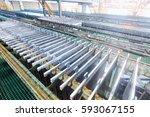electrolytic zinc production... | Shutterstock . vector #593067155