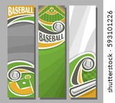 vector vertical banners for... | Shutterstock .eps vector #593101226