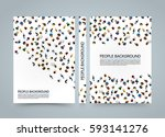 people background banner  view... | Shutterstock .eps vector #593141276
