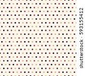 seamless polka dot  pattern... | Shutterstock .eps vector #593155412