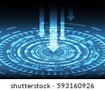 safety concept  cyber security  ... | Shutterstock .eps vector #593160926