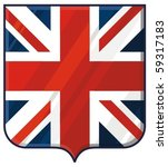 shield with united kingdom flag ...   Shutterstock .eps vector #59317183