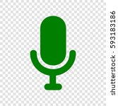 microphone sign illustration....