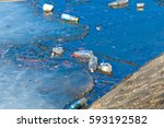 waste  trash and garbage... | Shutterstock . vector #593192582
