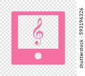 music player sign illustration. ...