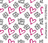 Seamless Pattern From Pink...