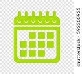 calendar sign illustration....   Shutterstock .eps vector #593200925