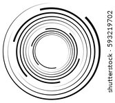 Abstract Geometric Spiral ...