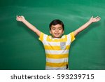 Indian School Kid In Hand...