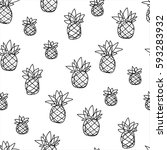vector seamless pattern with...   Shutterstock .eps vector #593283932