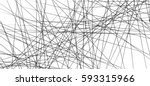random chaotic lines abstract... | Shutterstock .eps vector #593315966
