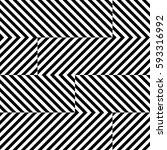 vector seamless pattern.... | Shutterstock .eps vector #593316992