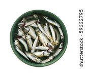one container full of fishes on ... | Shutterstock . vector #59332795