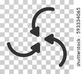 vortex arrows icon. vector...   Shutterstock .eps vector #593334065