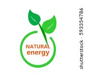 eco icon  natural energy   Shutterstock .eps vector #593354786