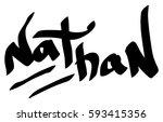 Nathan Male Name Street Art...