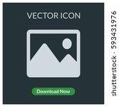 image vector icon   Shutterstock .eps vector #593431976