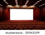 Empty Cinema Auditorium....