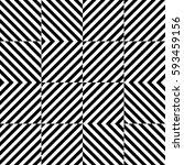 vector seamless pattern.... | Shutterstock .eps vector #593459156