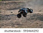 Rc Monster Truck Model With...
