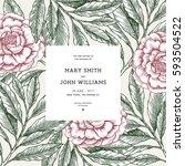 Floral Wedding Invitation....