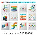 vector infographic design... | Shutterstock .eps vector #593518886