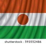 niger flag vector illustration. | Shutterstock .eps vector #593552486