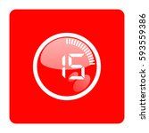 timer 15 minutes. | Shutterstock .eps vector #593559386