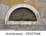 Crescent Shaped Window With...