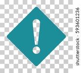 error rhombus vector icon.... | Shutterstock .eps vector #593601236
