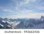 Stock photo alps mountain range 593662436