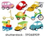 toy transport | Shutterstock . vector #59368909