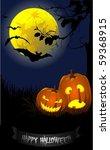 halloween | Shutterstock .eps vector #59368915