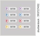 play button icon | Shutterstock .eps vector #593727452