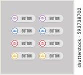 user group icon.  | Shutterstock .eps vector #593738702