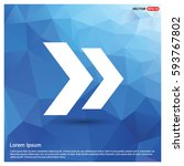 next arrow icon | Shutterstock .eps vector #593767802