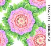 vector illustration abstract... | Shutterstock .eps vector #593779016