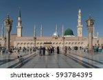 medina  kingdom of saudi arabia ... | Shutterstock . vector #593784395