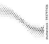 grunge halftone background.... | Shutterstock .eps vector #593797436