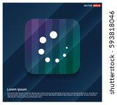 loading buffer icon  | Shutterstock .eps vector #593818046
