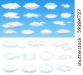 Twenty Six Clouds  Vector...
