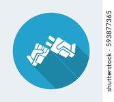 plug concept   Shutterstock .eps vector #593877365