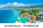 aerial view of  sorrento city ... | Shutterstock . vector #593884238