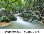 Small Waterfall That Flows Dow...