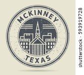 grunge rubber stamp or label... | Shutterstock .eps vector #593919728