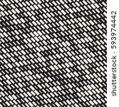 vector seamless black and white ... | Shutterstock .eps vector #593974442